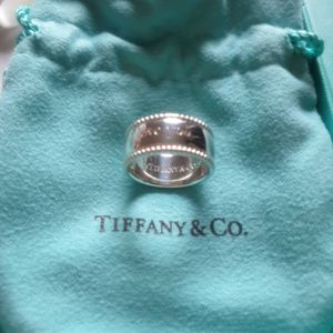 Authentic Tiffany & Co. I love you ring size 4, sterling silver for Sale in Queens, NY