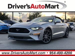 2018 Ford Mustang for Sale in Davie, FL