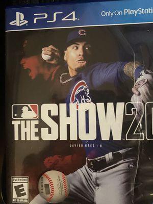 MLB The Show 20 PS4 $25 for Sale in Dalton, GA