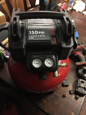 Porter cable air compressor for Sale in Bakersfield, CA