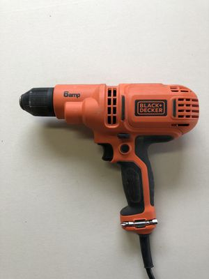 Black and Decker 6amp corded Drill for Sale in University Place, WA