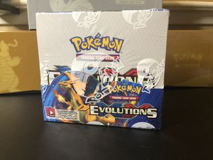 Pokemon XY Evolutions Booster Box for Sale in Sacramento, CA