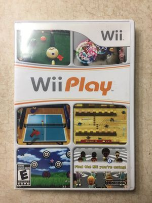 WII PLAY game for Nintendo WII for Sale in San Diego, CA