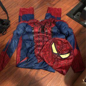 Size 4/5 Kids Spider-Man Halloween Costume for Sale in Burbank, CA