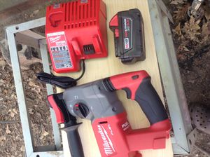 Milwuakee concrete hammer drill for Sale in Greenville, SC