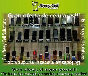 Gran oferta de celulares! Nuevos y usados, desde $20 dólares. for Sale in Hialeah, FL
