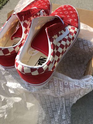 Custom Louis Vuitton van shoes for Sale in Salinas, CA