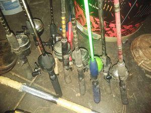 Fishing poles for Sale in Wichita, KS