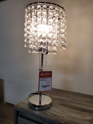 Table Lamp, Crystal for Sale in Santa Ana, CA
