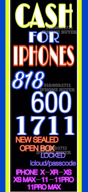 iPhone xs xr xs max 11 pro 11 pro max x iPad MacBook Apple Watch for Sale in Los Angeles, CA