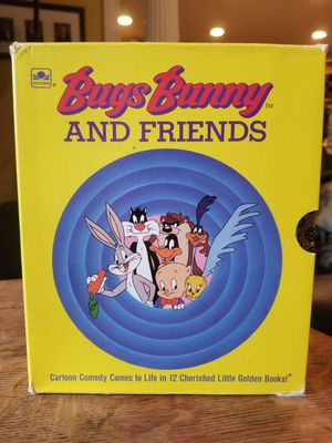 Bugs Bunny And Friends Little Golden Books Set of 12 Vintage Children's Books for Sale in Lexington, SC