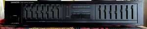 ONKYO EQ-140 Stereo Graphic Equalizer for Sale in Modesto, CA