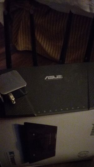 Wireless router asus 50 for Sale in Sacramento, CA