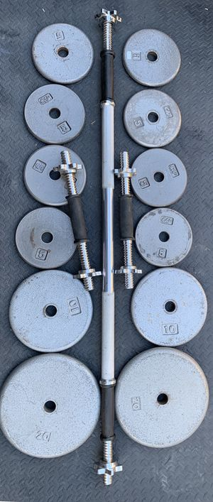 Weights and bars for Sale in Kent, WA