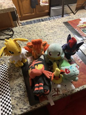 Pokémon plushies for Sale in Vienna, VA