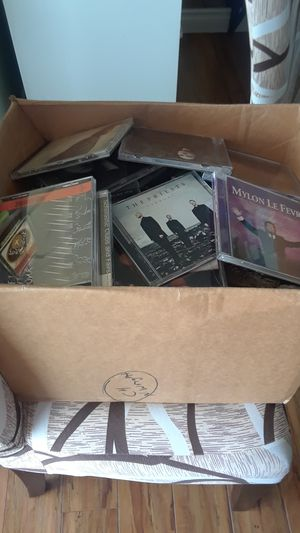 One Box with Over 100 cds😲Variety of music for 20.00 for Sale in Seattle, WA