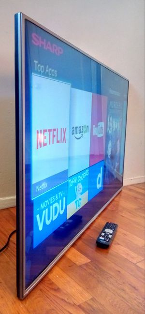 """50"""" SHARP LED SMART HDTV--( FREE DELIVERY) for Sale in Lynwood, CA"""
