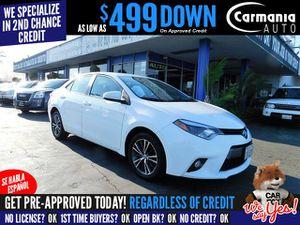 2016 Toyota Corolla for Sale in Buena Park, CA