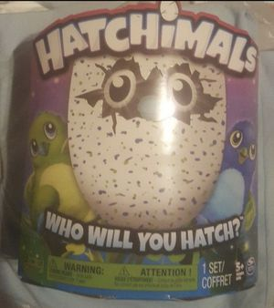 Hatchimals draggle blue green egg hatch crack - discontinued - brand new for Sale in Concord, NC