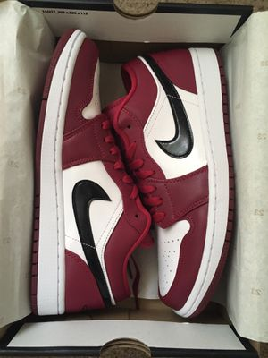 Jordan 1 Low Red / Black Size 9.5 11 11.5 12 for Sale in Rochester Hills, MI