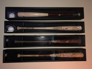 4 baseball bat display cases ( bats not included)sell together or separate price is per case for Sale in Longwood, FL