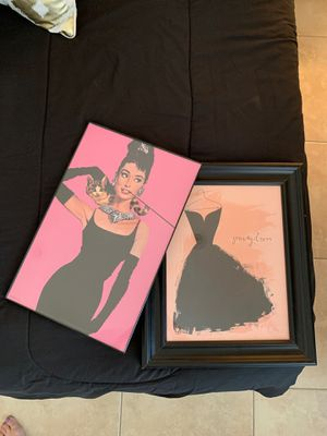 Pink and Black Themed Framed Photos for Sale in Phoenix, AZ