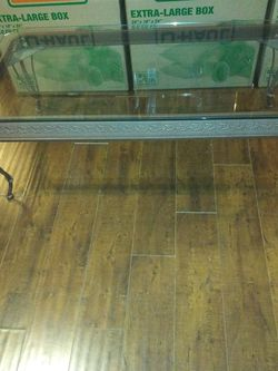 Glass Coffee Table and 1 Matching End Table for Sale in Los Angeles,  CA