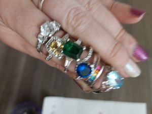 .925 silver rings 20 each for Sale in Springfield, OR