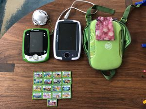 Leapfrog Leappad with 17 Games for Sale in Seattle, WA
