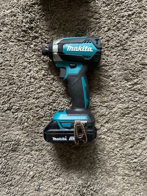 Makita 18v impact drill lithium ion battery rechargeable brushless motor for Sale in South Gate, CA