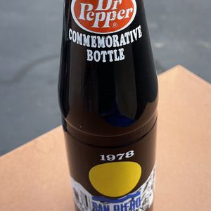 Dr Pepper Commemorative Bottle San Diego 1978 for Sale in Santee, CA