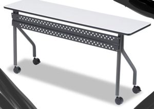 New!! Task table, training table, office furniture, gray charcoal for Sale in Phoenix, AZ