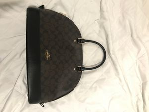 Coach Signature Canvas Handbag for Sale in San Francisco, CA