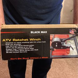 ATV ratchet winch for Sale in Lacey,  WA