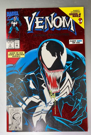 Venom Lethal Protector Comic #1. Red Foil Cover 1st. Solo Series Marvel Key 1993 for Sale in Longwood, FL
