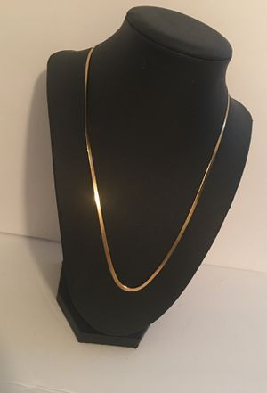 Gold plated single chain for Sale in Boston, MA