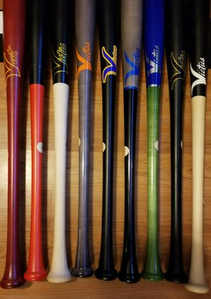 """Brand New Victus Pro Model Hard Maple Ink Dot Wood Baseball Bats 33.5"""" Brand New for Sale in West Covina, CA"""