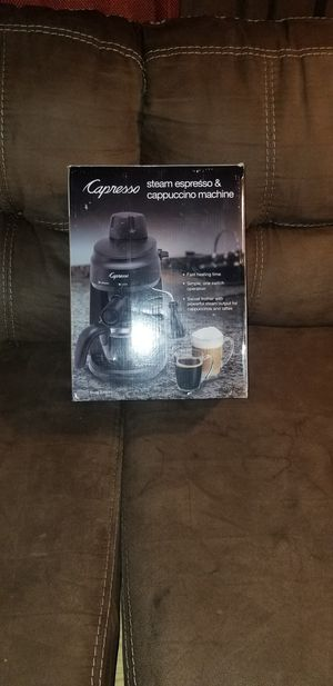 Capresso latte/coffee maker for Sale in Forest Heights, MD
