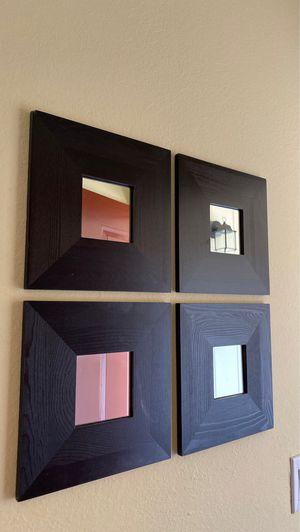 Wall mirrors decor (x4) for Sale in Walnut Creek, CA