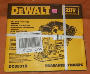 NEW DeWalt 20v cordless jig saw tool only $159 retail for Sale in Clearwater, FL