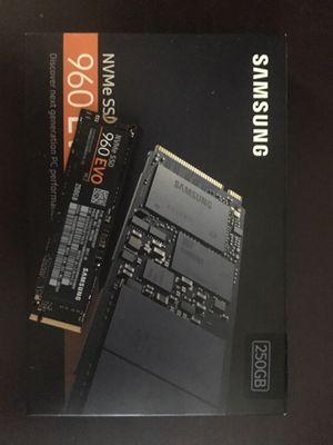 Samsung NVMe SSD 960 EVO M.2 for Sale in Naples, FL
