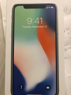 iPhone X for Sale in Fremont, CA