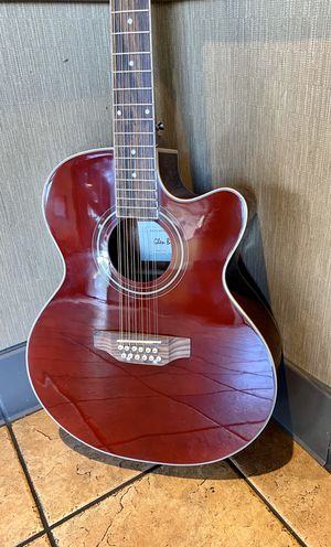 12 String acoustic electric guitar. New 🎸 (never used) for Sale in South Gate, CA