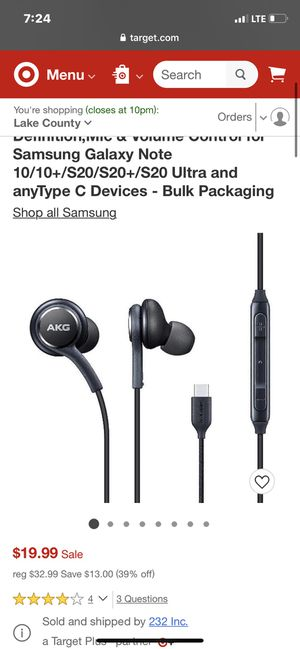 Samsung AKG USB-C BRAND NEW Headphones for Sale in Oak Park, IL