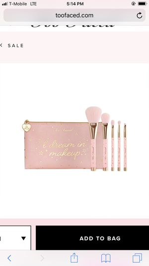 Too faced brushes set for Sale in Oak Lawn, IL