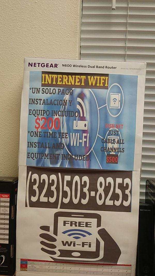 Internet un solo pago