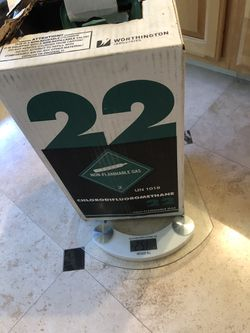 R-22 Freon approximately 14 lbs for Sale in Las Vegas,  NV