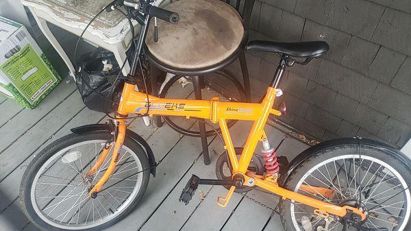 BLUEKS ( Shinewood ) bicycle