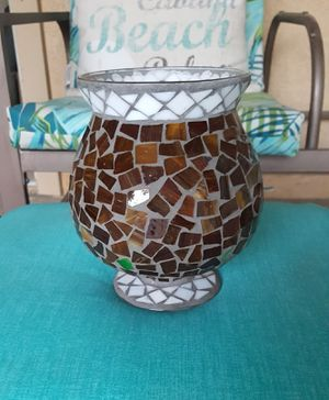 Home Interiors Hurricane Candle Holder for Sale in Dinuba, CA