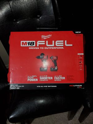 Taladros Milwaukee m18 fuel brusshless for Sale in Springfield, VA